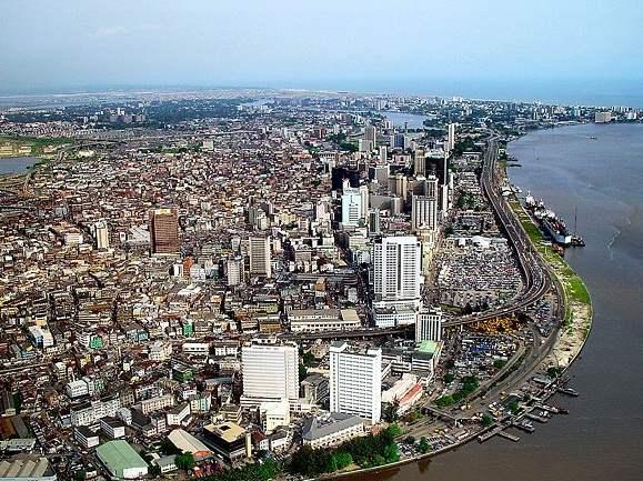 Lagos - największe miasto w Nigerii
