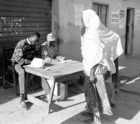 Wybory w Nigerii